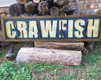 "Coat Rack - ""Crawfish"""