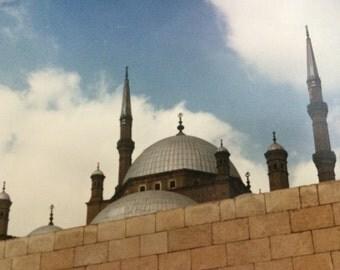 "Mosque in Cairo original 10"" x 8"" Photograph"