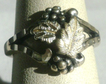 Black Hills Sterling Silver Ring-Size 6 1/2