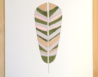 Woodland Feather Original