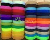25mm Sew on Velcro Hook and Loop Tape - 100% Nylon - 2 Meters - 28 Colors Available