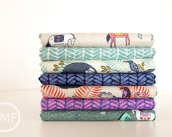 Honeymoon Fat Quarter Bundle, 7 Pieces, Sarah Watts, Cotton+Steel, RJR Fabrics, 100% Cotton Fabric