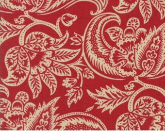 Madame Rouge Terre, 13771 11 by French General of Moda Fabrics, Sold In Half Yard Amounts