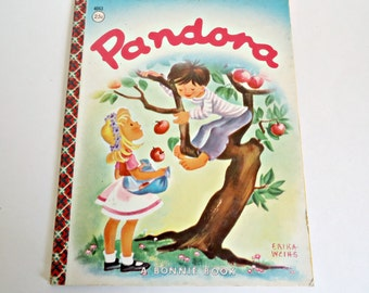 Vintage Pandora Children's Book A Bonnie Book 1961