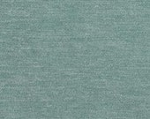 """Timeless Classic Chenille Upholstery Fabric - Durable - Washable - Soft hand - 56"""" wide - Polyester/Viscose - Color:  Spa - Per Yard"""
