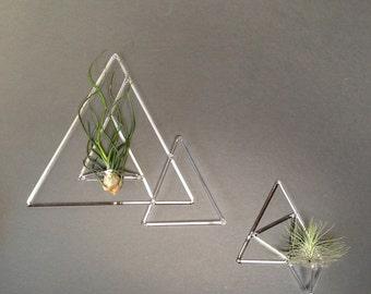 Himmeli Terrarium, Geometric Planter, Glass Air Plant Holder
