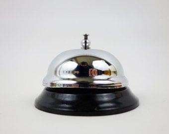 Vintage Metal Hotel Concierge Desk Bell