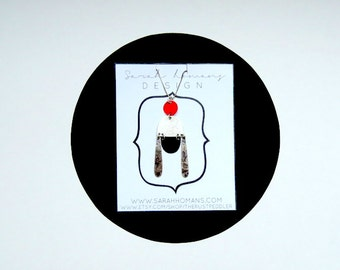 Abstract Insect Necklace