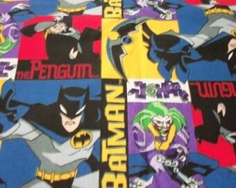 Batman Fabric Penguin Joker  New By The Fat Quarter BTFQ