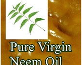 8 oz. PURE NEEM Oil, Virgin Organic & Cold Pressed ~ Imported from India ~