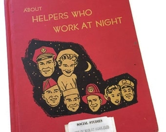 About Helpers Who Work at Night vintage book