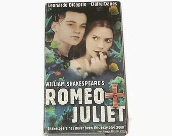 Romeo & Juliet Vintage VHS Tape, Vintage VHS Tapes, VHS Tapes, Romeo And Juliet Movie