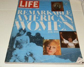 """Life Magazine-""""Remarkable American Women"""" Special Report 1976"""