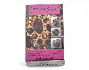 50g Crystal Clay Epoxy Clay - WHITE, cla0003