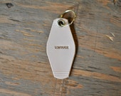 Lemonade leather keyring//Beyonce//Beyhive//keyring//Personalized keyring//queen bee//natural//veg tan//motel//Gift//funny//snarky keyring