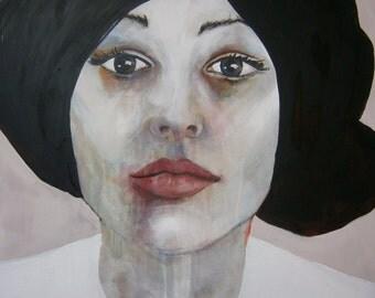 """Painting - XXL - Large size - Portrait """" Model 01 / 11 - 20"""