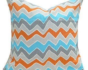 Decorative Pillow Covers Chevron