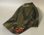 Baltimore Orioles MLB Logo Camo Hunting Hat New