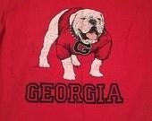 Vintage Georgia Bulldogs T-Shirt