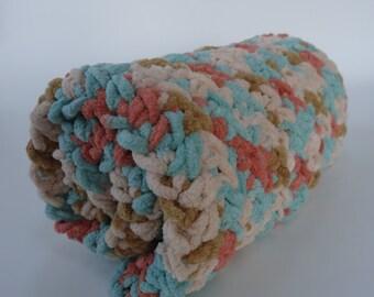 Crochet Cat Mat/Blanket- SEASCAPE