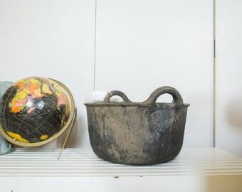 Recycled Rubber Basket MED