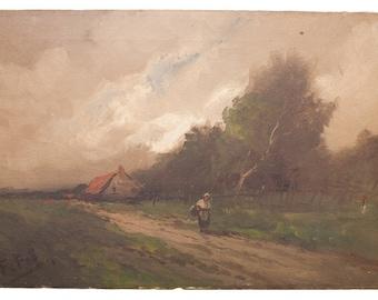 19th Century Farm Landscape