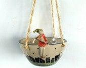 For Kimmy  Her   favourite flower. Hanging Basket/Plantholder/Garden