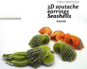"Tutorial: 3D earrings ""Seashells"""