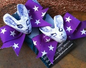 Choose Your Colors Bunnies and Bows Hair clips