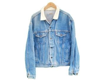 Vintage LEVI'S Denim Jacket - XL (24855)