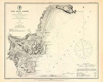 York River Harbor – 1879