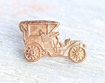 Antique Ford Car Pin - Automobile Badge