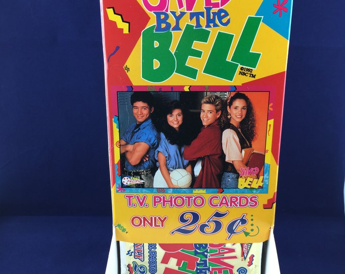 Featured listing image: Saved by the Bell Trading Cards