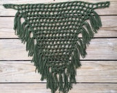 Ladies Misses Crochet Fishnet FRINGE Scarf ~ One Size Fits ALL ~ You Pick Color! ~ All-Year Around Stylish Trendy Accessory