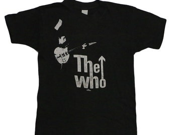 The Who Kids Are Alright Tour Shirt 1979 Vintage Tour Tee 70s Rock Tshirt Rare