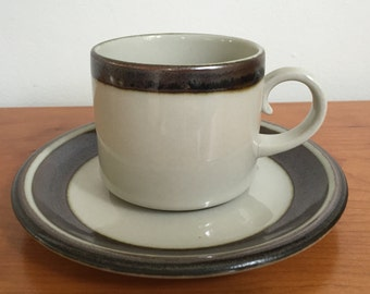 Arabia Karelia Flat Cup and Saucer Set of 12