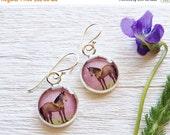 Clearance Sale Silver HORSE EARRINGS Handmade Jewelry