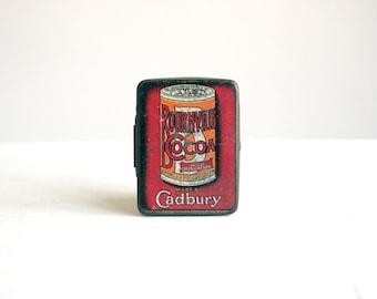 1910 cadbury bournville cocoa sample tin