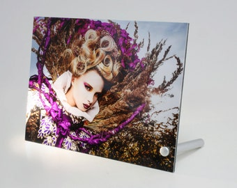 CHOOSE ANY PHOTO as a signed Desktop Aluminium Panel, Fine Art photo print