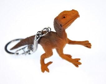 Velociraptor Keychain Dino light small