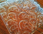 Spooky Skull Tray Soap Mold   - DESTASH / Clearance