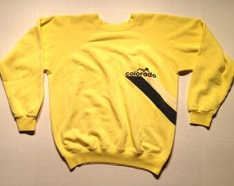 1980's Colorado sweatshirt, medium