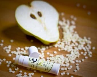 Handmade Pear Lip Balm