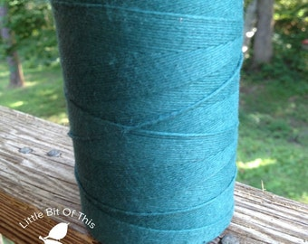 BULK • 800 Yards Total • Solid  Baker's  Twine / String • 100% Cotton • Eco Friendly • Gift Wrap • Bakery String  • Made In USA • Dark Teal