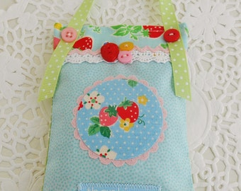 Strawberry Themed Lavender sachet/Home Decor/Appreciation Gift