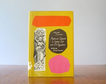 Vintage Paul Rand Book Jacket Design Myths and Symbols in Indian Art - Zimmer