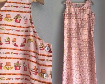 Linen dress size medium