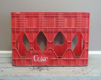 Plastic Coca Cola Crate Stackable Crate Red Storage Storage Tote Toy Chest Towel Storage Basket Coke Crate