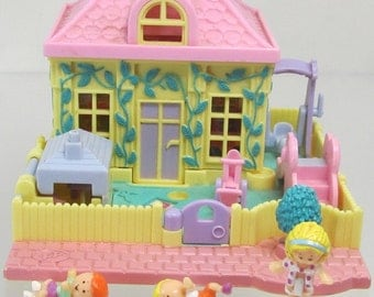 1994 Vintage Polly Pocket Nursery School Bluebird Toys (38622)