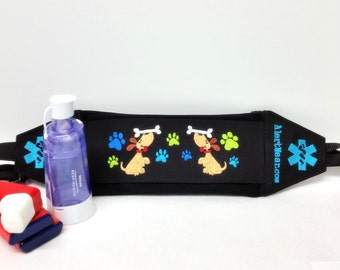 Custom Inhaler / Chamber / Epi-Pen Fanny Pack / Case with Personalized Interior